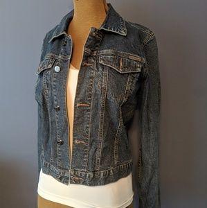 Calvin Klein crop Jean jacket